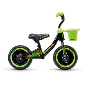 "s'cool pedeX 3in1 Kids Push Bikes Children 10"" green/black"